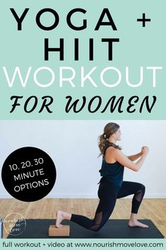 strengthen and lengthen while increasing power and endurance with this metabolic boosting, calorie-burning, yoga + hiit fusion workout you can do AT HOME in or 30 minutes! Intense Ab Workout, Easy Ab Workout, Abs Workout Video, At Home Workout Plan, At Home Workouts, Ab Workouts, Exercises, Workout Tips, Workout Plans