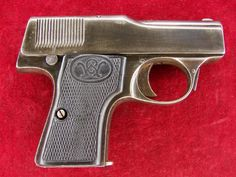Walther Model I Early Model Cartouches, Pocket Pistol, Revolvers, Pistols, Firearms, Hand Guns, Weapons, Crafts, Guns