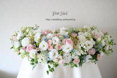 装花、テーブルフラワー
