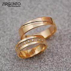 Gold Ring Designs, Gold Bangles Design, Wedding Ring Designs, Couple Ring Design, Classic Wedding Rings, Couple Rings, Gold Rings, Jewels, Engagement Rings