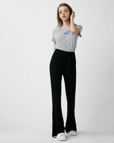 Express One Eleven Flare Lounge Pants | Express