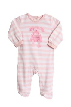 6565b22a1722e0 ABSORBA Baby-girls Newborn Bunny Yarn Dyed Footie, Pink Stripes, 0-3  Months. From #Absorba. List Price: $24.00. Price: $10.00
