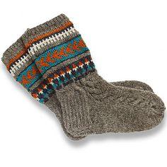 Latvian Wool Socks, size 37-38