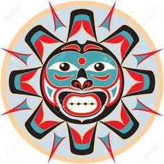 11270770-Sun-in-Native-American-Style-Stock-Vector-art.jpg (1300×1300)