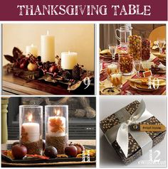 Thanksgiving Day Table