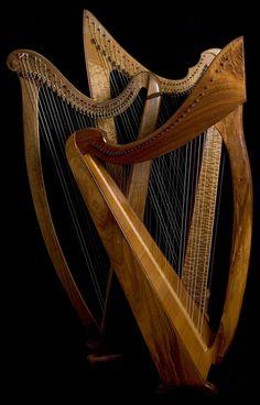 Lever harps