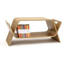 Table basse éco design en bois, meuble pour enfant, Embrace, John Green