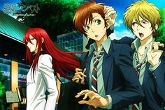 """Zetsuen no tempest- I highly suspect Mahiro has a thing for Yoshino. Not the same way he had a thing for his """"sister"""" though, cuz he has no problem touching Yoshino. He does have a problem with affection, though. Oh, you crazy homicidal psycho you."""