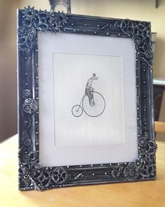 INDUSTRIAL Steampunk picture frame Steampunk photo by FromThePerch