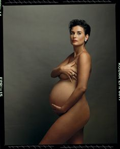 Demi Moore, Culver City, California, 1991. Photograph by Annie Leibovitz.