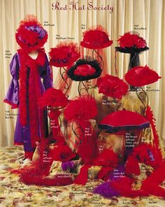 Red Hat Ladies Society - .