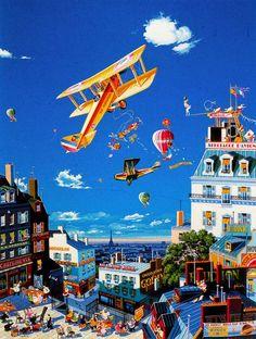 Hiro Yamagata. I like this painting :)