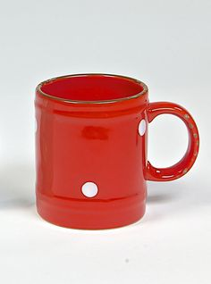 COUNTRY RUSTY RED Mug Red Mug, Stoneware, Tea Pots, Shabby Chic, Colours, Mugs, Country, Tableware, Shopping