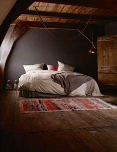 Deep and cozy bedroom design Cozy Bedroom, Master Bedroom, Bedroom Decor, Bedroom Furniture, Design Bedroom, Eaves Bedroom, Bedroom Balcony, Wooden Bedroom, Bedroom Simple