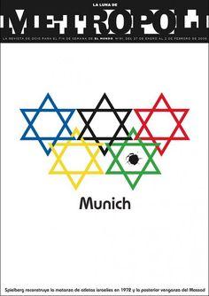 February 2006 issue of Metropoli Munich, Rodrigo Sanchez, Magazine Cover Design, Magazine Covers, Newspaper Cover, Logo Design, Graphic Design, News Design, Editorial Design