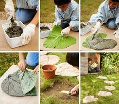 Awesome Nature: DIY Creative Garden Path