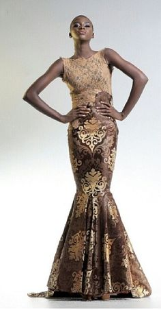 Emerging designer Michael Shumaker. Featured designs from his debut collection Luxivity! Nigerian designer.