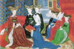 Christine de Pizan présente son ouvrage à Isabeau of Bavaria