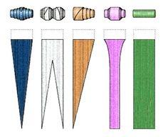 Risultati immagini per perline di carta