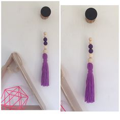 A personal favourite from my Etsy shop https://www.etsy.com/au/listing/248142499/purple-girls-room-boho-hanging-long