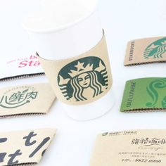 100 pcs Disposable Cup sleeve Cartoon Double-deck corrugated coffee disposable paper Cup sleeve tableware Customized supplier Description: Material:Kraft Paper + corrugated paper( Double layer) Pcs/Lot Buy 2 or off. Hot Coffee, Coffee Drinks, Coffee Cups, Disposable Tableware, Disposable Cups, Coffee Supplies, Cup Sleeve, Party Catering, Coffee Accessories