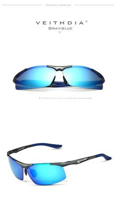 VEITHDIA 6562 - Sunglasses Polarized Sunglasses, Mens Sunglasses, Eye Damage, Light Rays, Color Lenses, Prescription Sunglasses, Look Cool, Ultra Violet, Travel Accessories