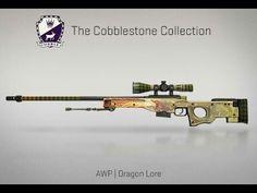 AWP | Dragon Lore | Cobblestone Collection | CS:GO | SKIN