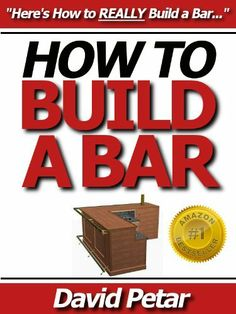 1000 images about building a bar on pinterest build a for How to build a bar in your basement