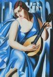 TAMARA ŁEMPICKA | Tamara Łempicka - reprodukcje obrazów - malowane ręcznie