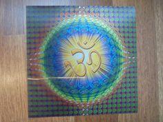 1 3D OM Poster aus Indien stabil Goa Hippie Hinduismus Hindi Hindu neu Bild 2