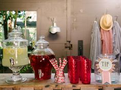 For a bridal shower or any type of party, learn how to create a casual, farmhouse-style atmosphere packed with comfort food, drinks and cocktails, and loads of charm.