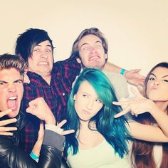 Day 14: My favorite youtubers together! PewDiePie, CutiePieMarzia, Joey Graceffa, and Anthony Padilla!! (Favorite YouTubers together)