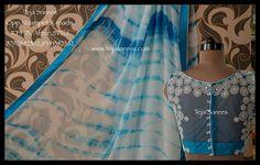 Beautiful Blouses, Beautiful Saree, Very Good Girls, Sexy Blouse, Blouse Designs, Cool Girl, Chiffon, Indian, Designer Sarees