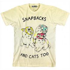 Snapbacks & Cats Too Shirt