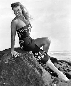 Esther Williams, 1950.