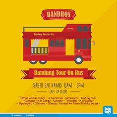 BANDUNG, infobdg.com - Bus Wisata Keren punya Kota Bandung ini semakin membuat penasaran untuk bisa naik, Ini dia caranya!