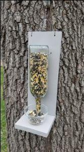 DIY Wine Bottle Bird Feeder – NOT An Empty Nest