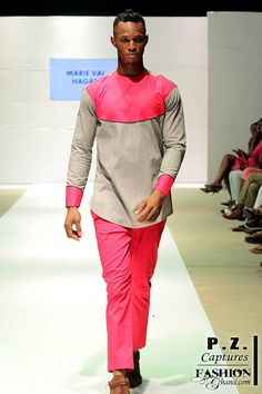 Maria Val Hagan  Accra Men Fashion Week #Menswear #Trends #Tendencias #Moda Hombre