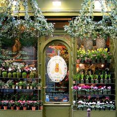 Flower shop front