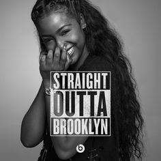 WHERE BROOKLYN AT! Wouldn't want to be from anywhere else in this world. So much talent and creativity born. Brooklyn Til I Die Thank you for having me apart of this campaign and introducing me to the great who took this photo Unicorn Hair Color, Purple Unicorn, Dark Skin Beauty, Hair Beauty, Black Beauty, Brown Girl, Brown Skin, Black Girls, Top Girls