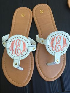 f290198a7938 28 Best Monogrammable Sandals images