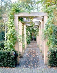 95 Fantastic Side Yard Garden Pathway Landscaping Ideas – Famous Last Words Wooden Pergola, Backyard Pergola, Pergola Kits, Cheap Pergola, Building A Pergola, Building Plans, Diy Garden, Garden Structures, Front Yard Landscaping
