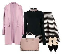 """""""184"""" by vicinogiovanna ❤ liked on Polyvore featuring Rumour London, Marni, Boohoo, Paul Andrew and Valentino"""