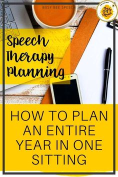 What if I told you that you could have your entire year planned out ahead of time? How amazing would that feel? If you get a general idea of what your speech therapy planning will look like for the year, it makes it much easier to grab things and go. Ready to learn my simple system? Let's do this.