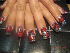 Glittery hearts