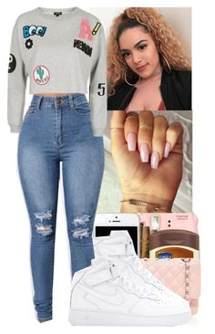 """""""Ready For May✌"""" by jazzy-love1164 ❤ liked on Polyvore featuring Fujifilm, Vaseline, Chanel, NIKE and Topshop"""
