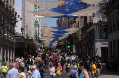 Calle Preciados, Madrid. / Autor: Rafa Albarrán. / Cedida por: Ayuntamiento de Madrid.
