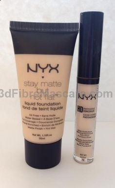 Pink Preference NYX Foundation and Concealer
