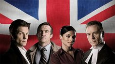 Law & Order: UK is a British police procedural and legal television programme, adapted from the American series Law & Order.  Based in London, and following the formula of the original, Law & Order: UK stars Bradley Walsh, Paul Nicholls, Harriet Walter, Dominic Rowan, Freema Agyeman and Peter Davison. Law & Order: UK became the first American drama television series to be adapted for British television. (wikipedia)