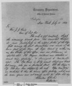 A letter sent from Sheridan Shook to Joseph J. Lewis regarding the riots (Library of Congress)